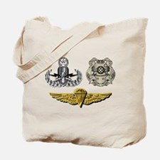 Navy - Eod Master, Diver 1st Class, Parac Tote Bag