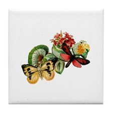 Butterflies 10 Tile Coaster