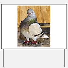 Barred Flight Pigeon Yard Sign