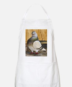 Barred Flight Pigeon BBQ Apron