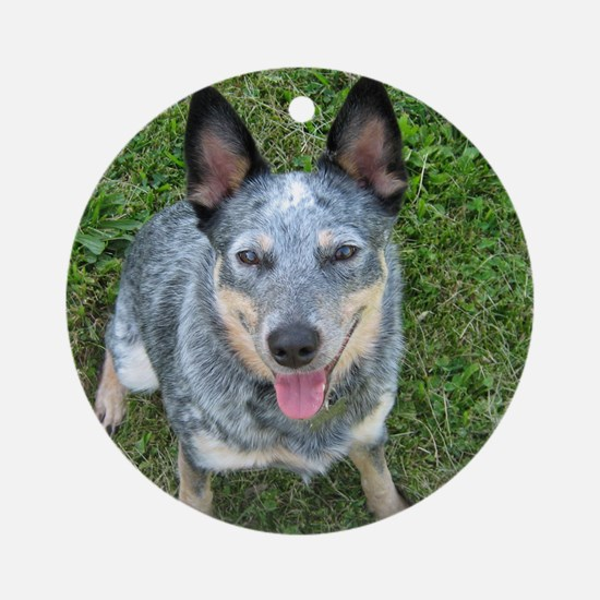 Blue Heeler Ornament (Round)
