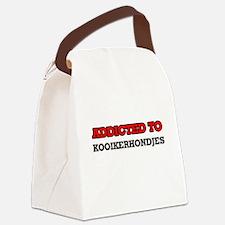 Addicted to Kooikerhondjes Canvas Lunch Bag