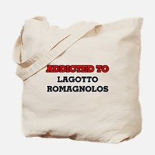 Addicted to Lagotto Romagnolos Tote Bag