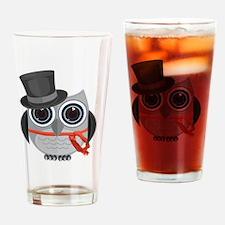 Unique Animals owl Drinking Glass