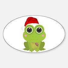 Christmas Frog Decal