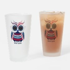 Unique Wise owl Drinking Glass