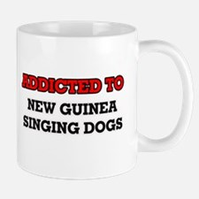 Addicted to New Guinea Singing Dogs Mugs