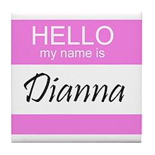 Dianna Tile Coaster