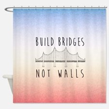 Cute Liberal Shower Curtain