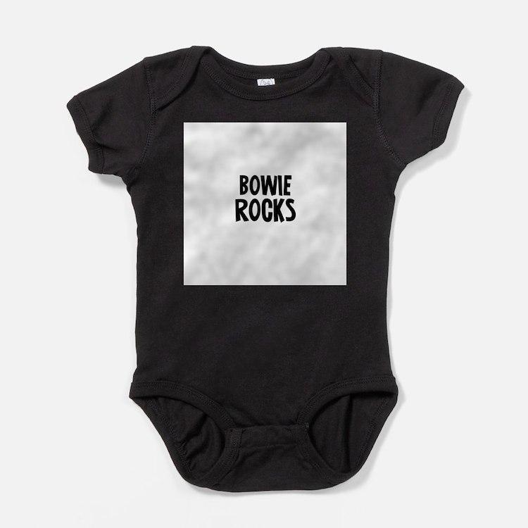 Cute Text1 rocks Baby Bodysuit