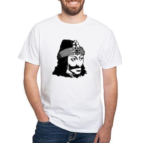 Vlad Tepes - Prince Dracula White T-Shirt