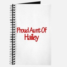 Proud Aunt of Hailey Journal