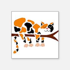Calico Cat in Tree Sticker