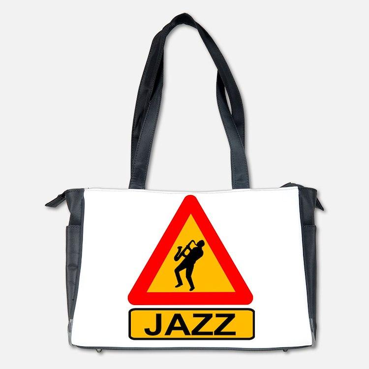 Jazz Caution Sign Diaper Bag