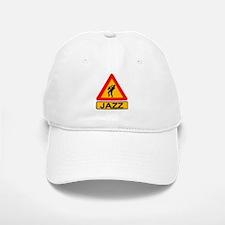 Jazz Caution Sign Baseball Baseball Cap