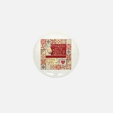 Friendships are Like Quilts Mini Button (10 pack)