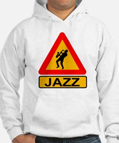 Jazz Caution Sign Jumper Hoody