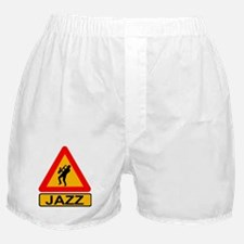 Jazz Caution Sign Boxer Shorts