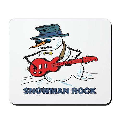 Snowman Rock Mousepad