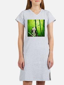 Panda Bear Women's Nightshirt