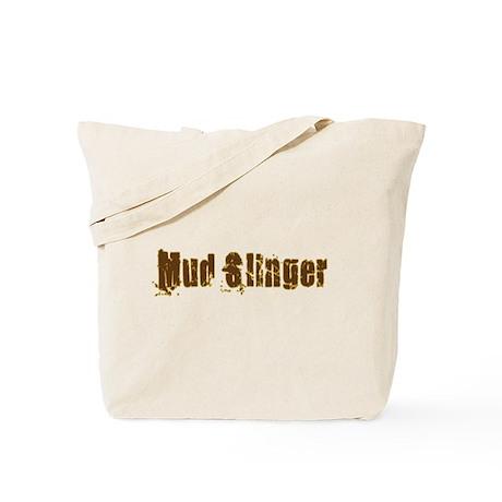 Mud Slinger Tote Bag