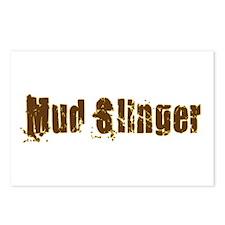 Mud Slinger Postcards (Package of 8)