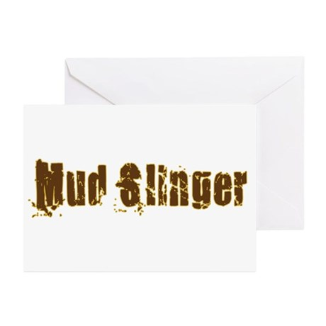 Mud Slinger Greeting Cards (Pk of 20)