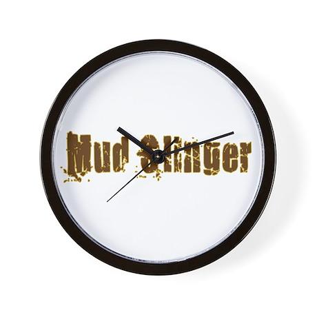 Mud Slinger Wall Clock