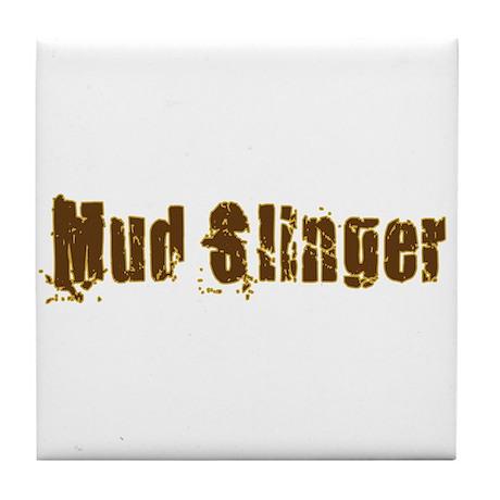 Mud Slinger Tile Coaster