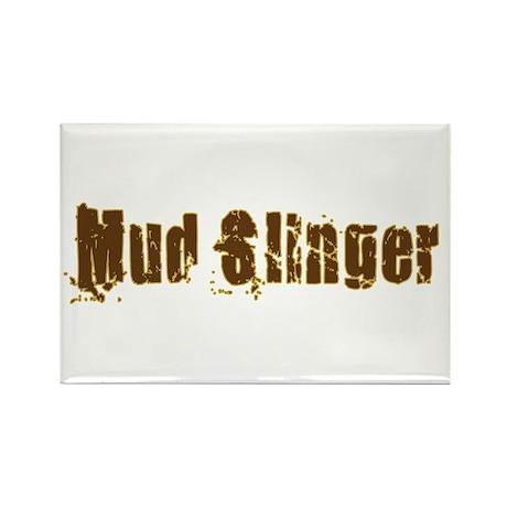 Mud Slinger Rectangle Magnet (100 pack)