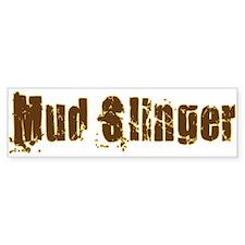 Mud Slinger 4x4 Bumper Bumper Sticker