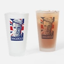 Milo Yiannopoulos Drinking Glass