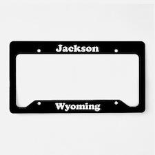 Jackson WY - LPF License Plate Holder