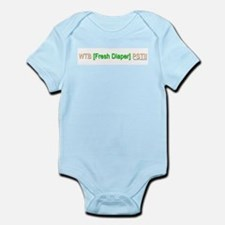 """WTB Fresh Diaper"" Body Suit"