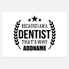 Dentist Gifts Personalized Invitations