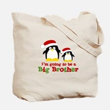 penguin big brother surprise Tote Bag