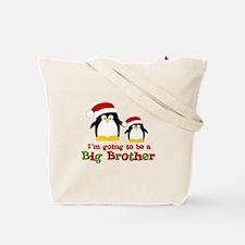 penguin big brother surprise Tote Bag