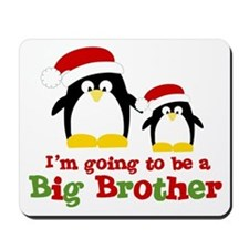 penguin big brother surprise Mousepad