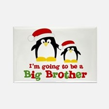 penguin big brother surprise Rectangle Magnet