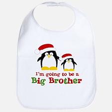 penguin big brother surprise Bib