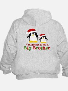 penguin big brother surprise Hoodie