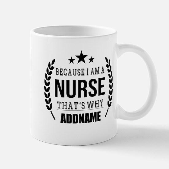 Gifts for Nurses Personalized Mug