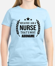 Gifts for Nurses Personalize T-Shirt