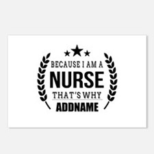Gifts for Nurses Personal Postcards (Package of 8)