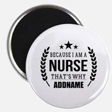 Gifts for Nurses Personalized Magnet
