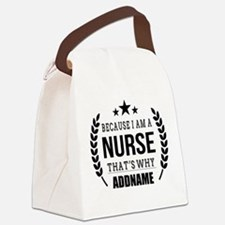 Gifts for Nurses Personalized Canvas Lunch Bag