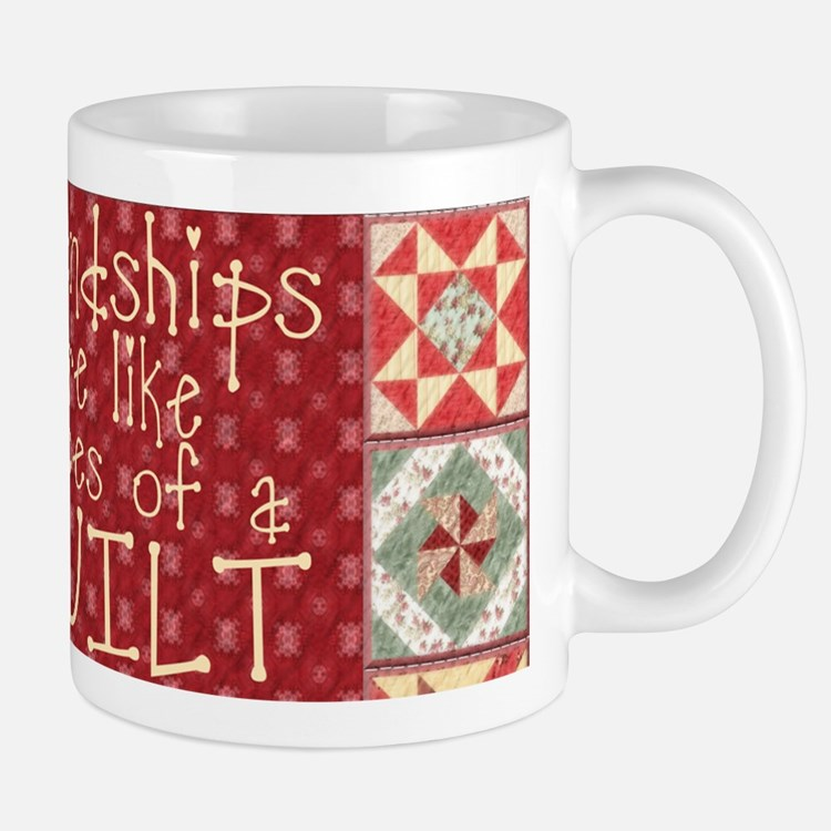 Friendships Are Like Quilts Small Small Mug