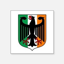 Patriotic German Irish Heritage Sticker