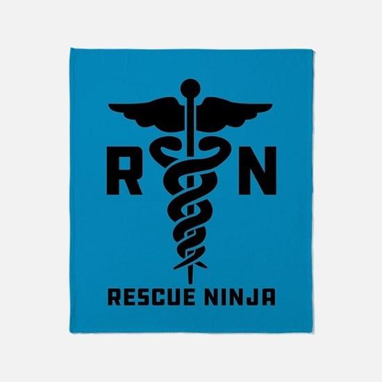 Rescue Ninjas Throw Blanket
