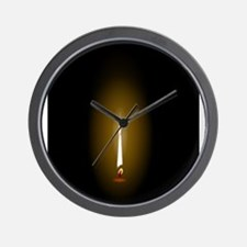 Flame Wall Clock